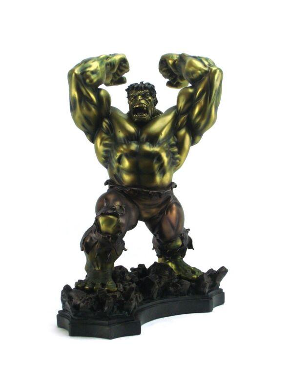 BOWEN THE INCREDIBLE HULK FAUX BRONZE STATUE FIGURE X-MEN 344/350 Avengers