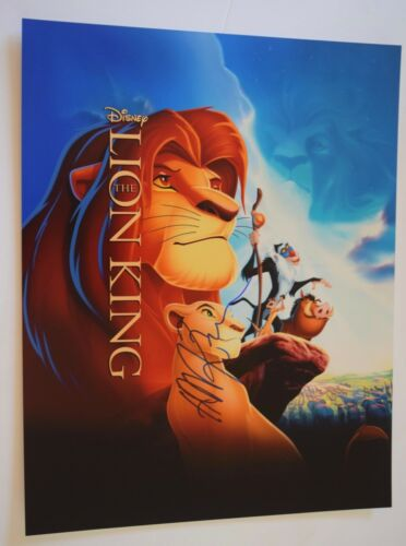 Hans Zimmer Signed Autographed 11x14 Photo Poster THE LION KING Composer COA VD