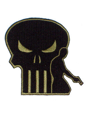 Punisher Skull Marvel Comics Promotional Iron-On Patch Lions Gate Films 2004