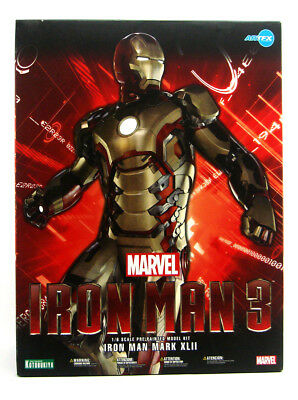 Mark 42 Artfx Statue 1/6 Scale Marvel Comics New In Box (Iron Man Mark 42)