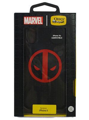 OtterBox Marvel Deadpool Apple iPhone X Symmetry Series Protective Xs Case New