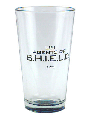Agents Of Shield 16oz Pint Glass Tumbler 2014 SDCC San Diego Comic Con Exclusive