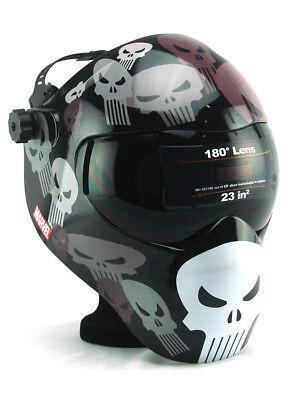 Punisher Save Phace Welding Helmet Efp Eye Safety Marvel Extreme F-series New
