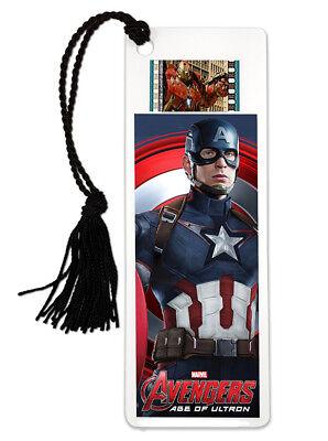 Avengers Captain America Age Of Ultron Bookmark 35mm Movie Film Cel Marvel New