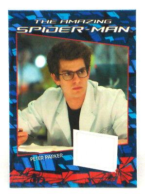 2012 Amazing Spider-Man Movie Costume Card Relic Peter Parker Lab Coat CC2
