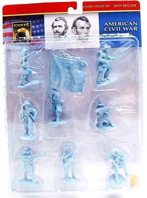 Conte Collectibles Plastic Union Iron Birgade 54mm unpainted toy soldiers moc