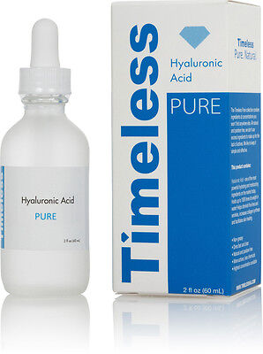 Hyaluronic Acid Serum 100  Pure 2 Oz  60 Ml  Timeless Skin Care Free Shipping
