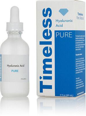 Hyaluronic Acid Serum 100  Pure 2 Oz  60 Ml  Timeless Skin Care Free Shipping