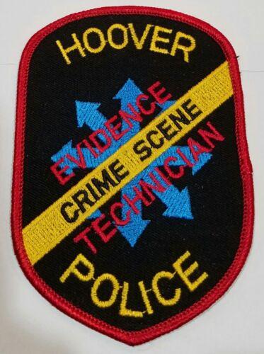 Hoover Police Crime Scene Evidence Technician Alabama Cloth Patch