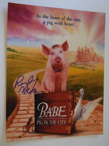 Randy Newman Signed Autographed 11x14 Photo BABE PIG IN THE CITY COA VD