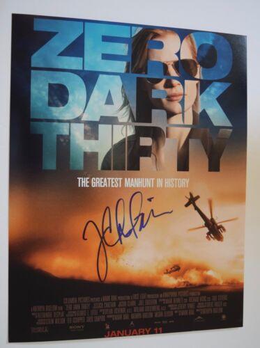Jessica Chastain Signed Autographed 11x14 Photo ZERO DARK THIRTY COA VD