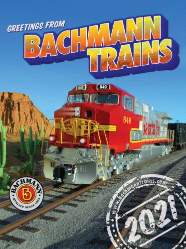 2021 Bachmann Trains Catalogue   FREE SHIPPING