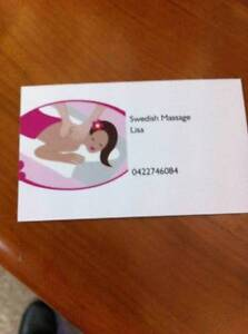 Lisa's Swedish Massage Service Forrestfield Kalamunda Area Preview