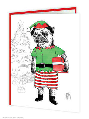 Christmas Cards Cheap (Funny Christmas Xmas Card Cute Witty Amusing Comedy Humour Quirky Modern)