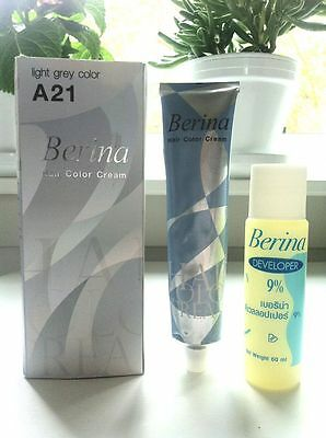 2 Set Of Best Berina A21 Hair Professional Permanent Hair Dye Color Cream Color