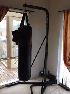 Boxing bag with stand Balwyn North Boroondara Area Preview