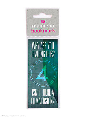 Brainbox Candy Film Version magnetic bookmark funny cheap present gift reading