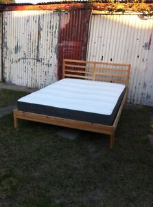 Queen Bed & Mattress Botany Botany Bay Area Preview