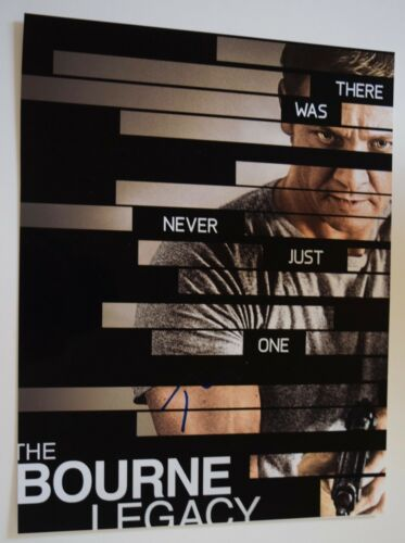 Tony Gilroy Signed Autographed 11X14 Photo Director THE BOURNE LEGACY COA VD