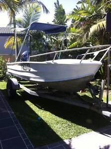 4.2m STACER TINNY ALUMINIUM ( runabout dingy ) Runaway Bay Gold Coast North Preview