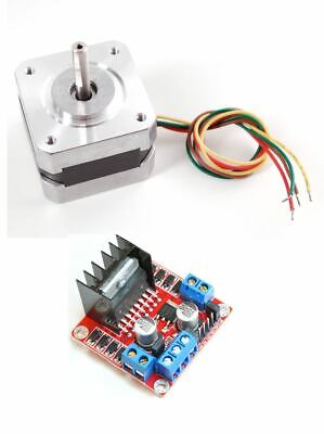 Nema17 Stepper Motor L298 Dual H Bridge Motor Controller Combo