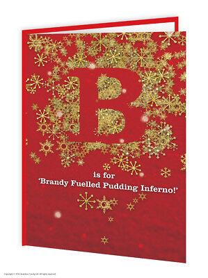 Navidad Tarjetas de felicitación Divertido Humor Novedad Descarado Broma