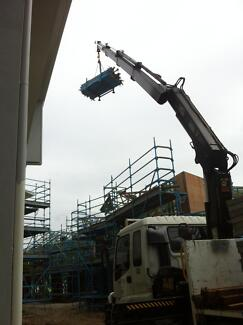CRANE TRUCK AND DRIVER FOR HIRE $90.00PH PLUS GST