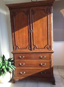 Beautiful Timber Armoire Bilinga Gold Coast South Preview