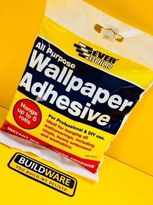 Everbuild All Purpose Wallpaper Adhesive Hangs up to 5 Rolls