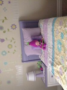 Purple bedroom set: MATRESS NOT INCLUDED ONLY BOX