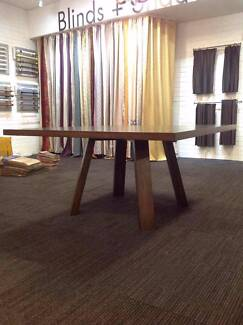 【Clearance】Solid Timber Square Dining Table Only