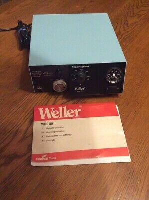 Weller Wrs 80 Repair System ---- Desoldering Rework Station Brand New