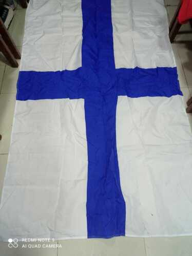 Vintage Ship Marine Signal And Country Flag C57