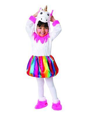 Kleinkinder Einhorn Kostüm Rainbow Girls Märchen Kostüm (Kleinkind Rainbow Kostüme)
