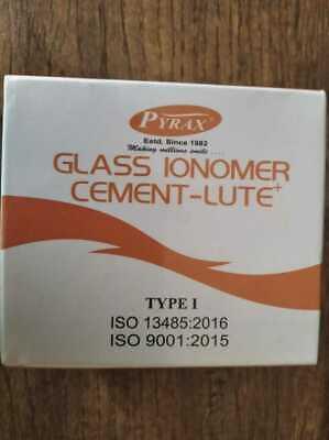 Permanent Dental Adhesive Glass Ionomer Cement Crown Bridge Luting D