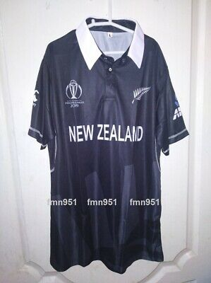 New Zealand Cricket Team World Cup 2019 ODI Shirt T-Shirt Jersey Adult Kids (Odi Cricket)
