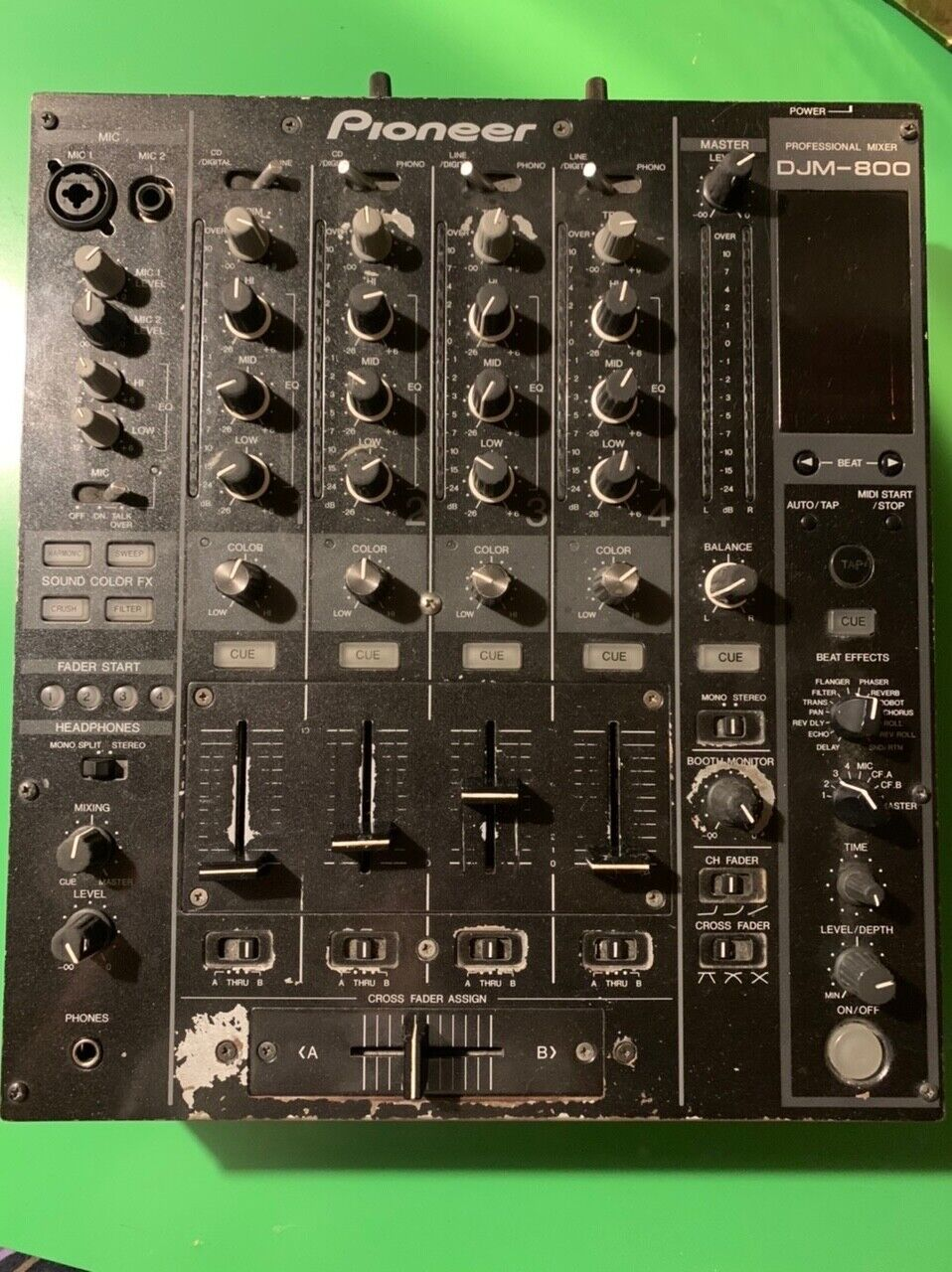 Pioneer DJM 800 4-Kanal DJ Mixer Mischpult Gebraucht
