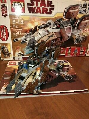 Lego Star Wars Pirate Tank - 7753 100% Complete With Box and Instructions