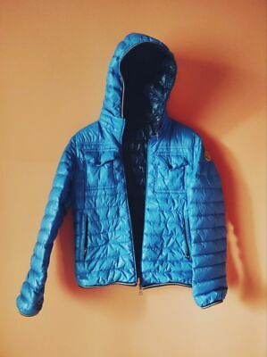 MONCLER Authentic CLOVIS micro puffer down hooded kids jacket 11 y.o.