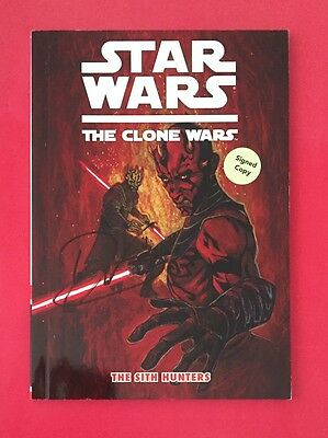 Star Wars: Clone Wars - Sith Hunters #1 Digest - Signed By Director Dave Filoni