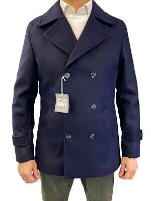Cappotto Uomo Elegante Giacca Invernale Giubbotto Made in Italy Sartoriale