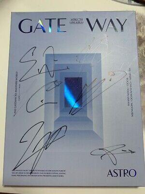 ASTRO GATEWAY 7TH MINI Autograph ALL MEMBER Signed PROMO ALBUM KPOP signature