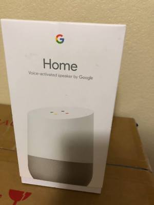 Google Home   White Slate  Google Personal Assistant  Brand New   Sealed