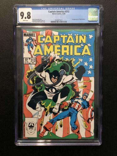 Marvel Captain America 312 CGC 9.8 1st Flag Smasher 1 of only 8 CGC 9.8