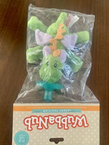 WubbaNub Infant Baby Soothie Pacifier Baby Fairytale Dragon Brand New Authentic