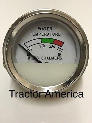 Temperature Gauge For Allis Chalmers D19 D21 170 175 180 185 190 200 210 240989