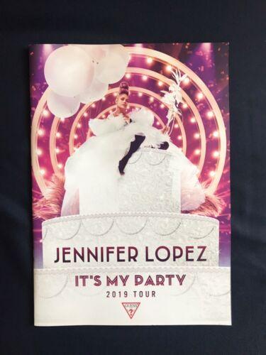 Jennifer Lopez - It's My Party TourBook Guess Limited Tour Program Russia Rare