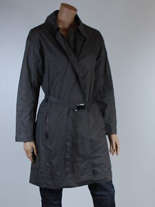 veste trench manteau hiver femme turnover doublure amovible taille 40 ebay. Black Bedroom Furniture Sets. Home Design Ideas