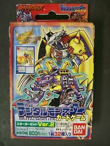 Japan Digimon Trading Japanese 32 Card RED Booster Starter Packs Game Pack