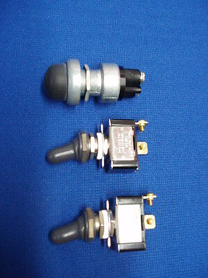 Lot Lincoln Welder Sa-200 Sa 250 Gas Toggle & Starter Switch With Boots